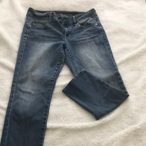 American Eagle crop jeans